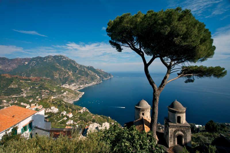 意大利海边小镇