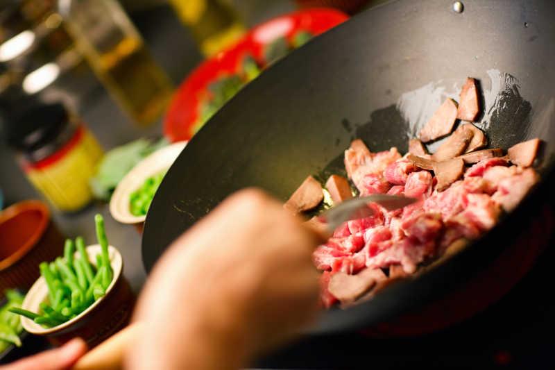 烧制肉类菜肴