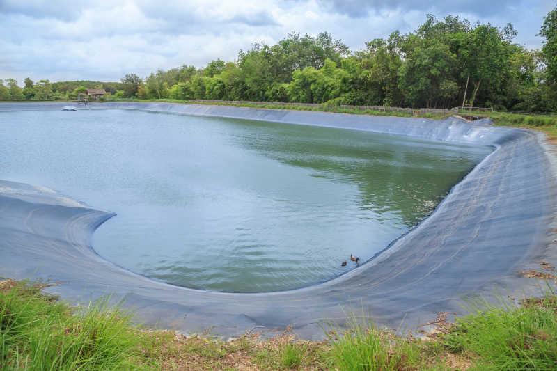 农业灌溉蓄水池