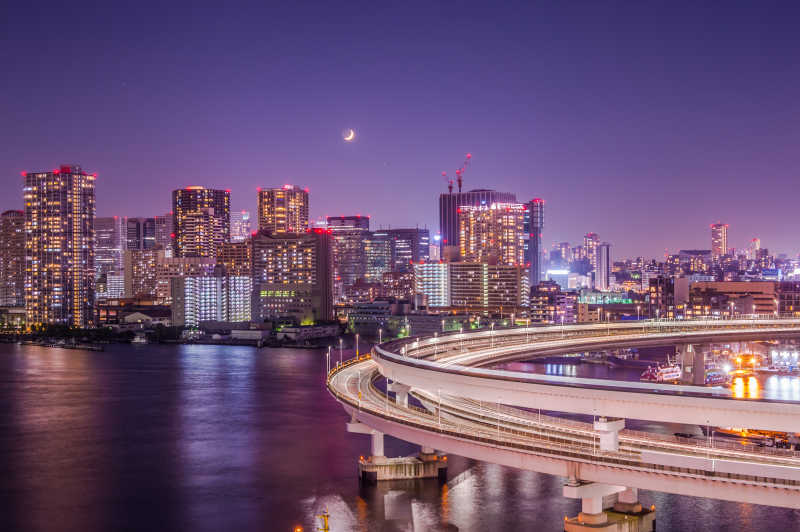 东京城市夜景
