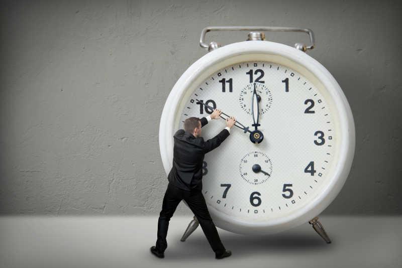 商人总是觉得时间不够用