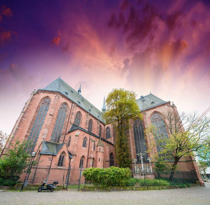 法兰克福大教堂整体景观