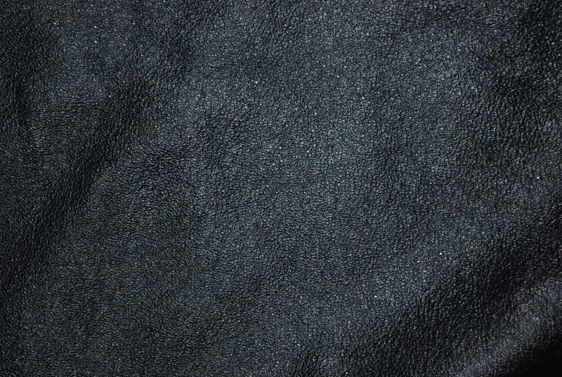 黑色老旧皮革纹理背景