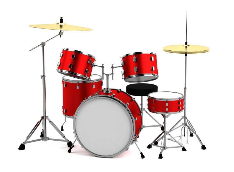 红色架子鼓