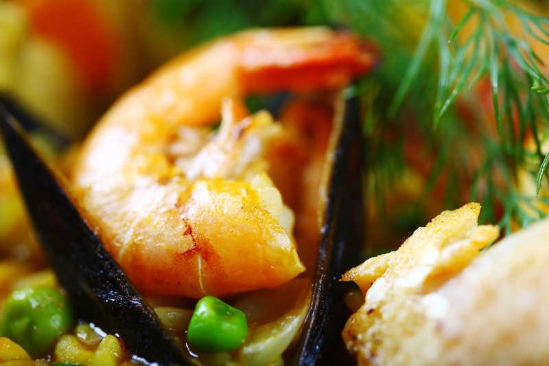 西班牙鲜虾饭