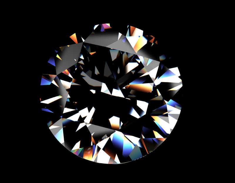圆形明亮钻石