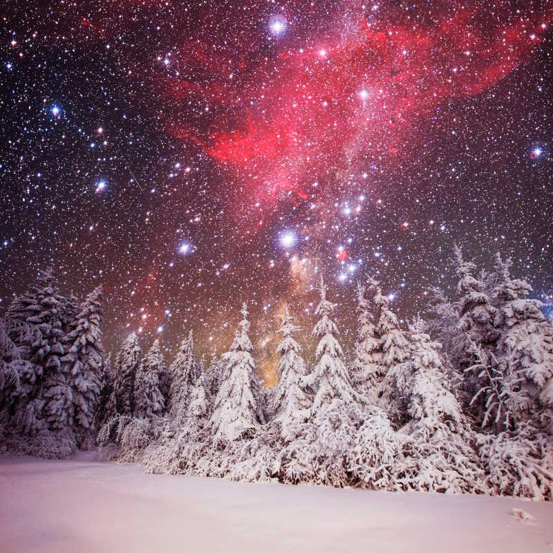 冬季天空中的美景