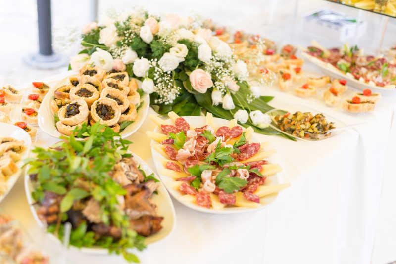婚礼餐饮食品
