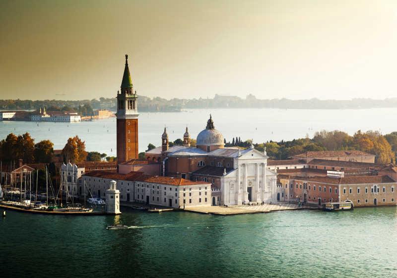 威尼斯圣乔治岛意大利风景