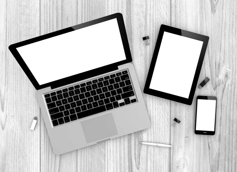 笔记本电脑和平板电脑