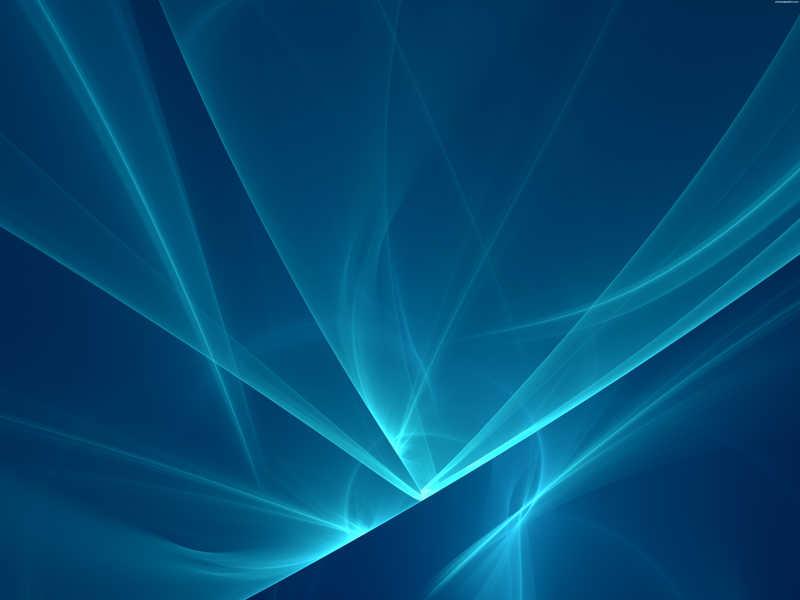 蓝色发光线条背景