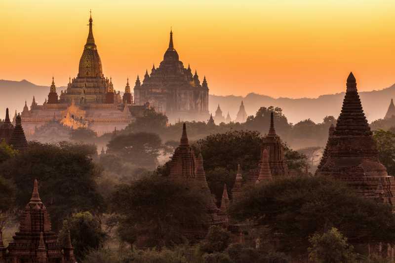 缅甸蒲甘寺庙