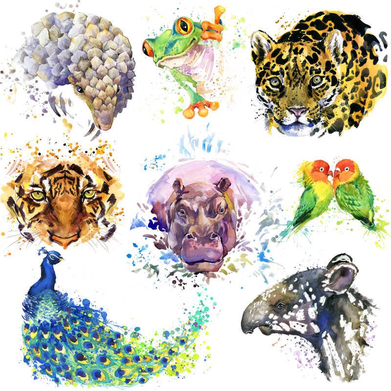 动物艺术绘画