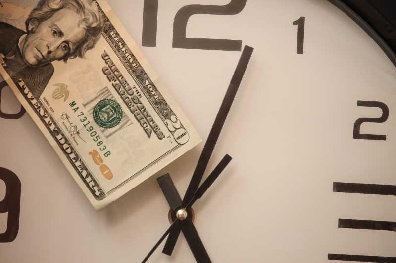 时间就是金钱和美金
