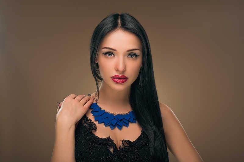 时尚女性肖像