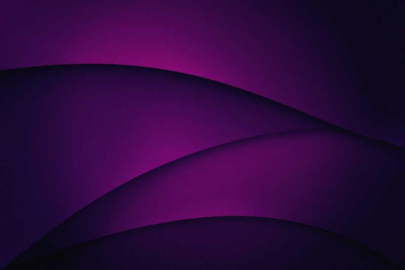 紫色分层重叠背景
