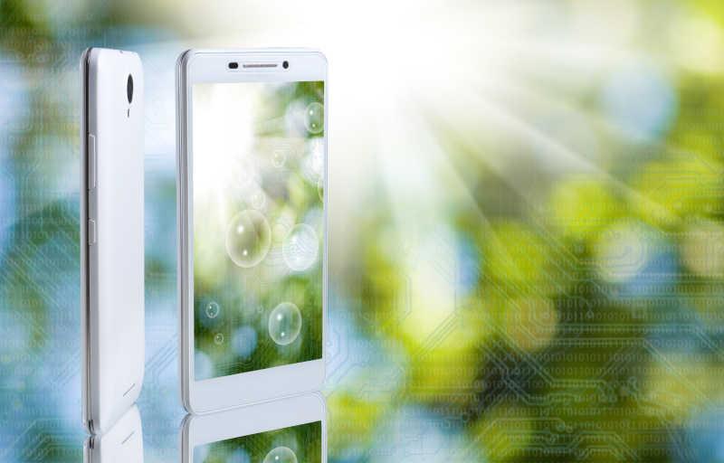 智能手机宣传概念图