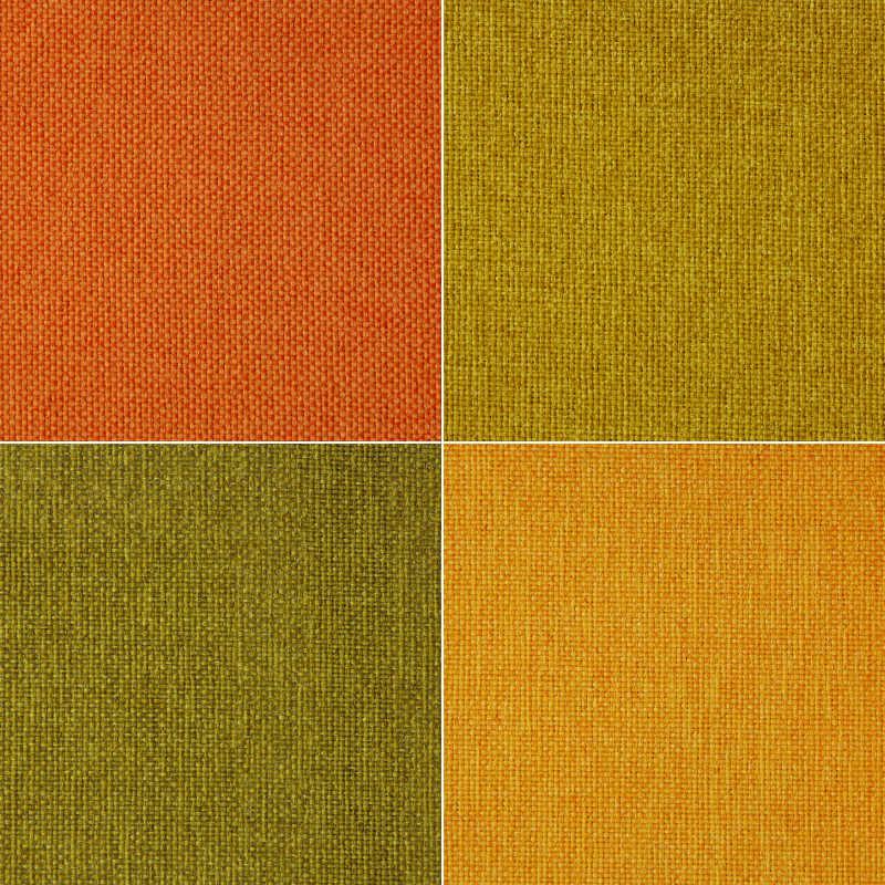 彩色拼接织布背景