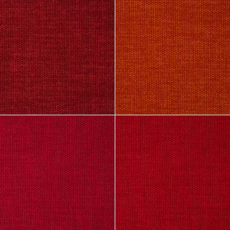 红色织物背景