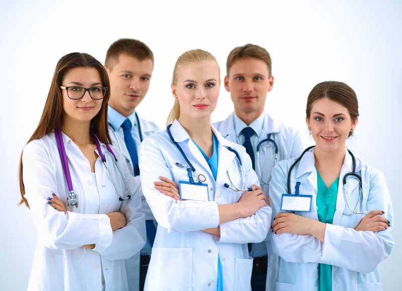 欧美病人和大夫16p_医生护士团队图片-医院医生和护士小组素材-高清图片-摄影照片 ...