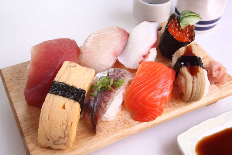 寿司需要的食材