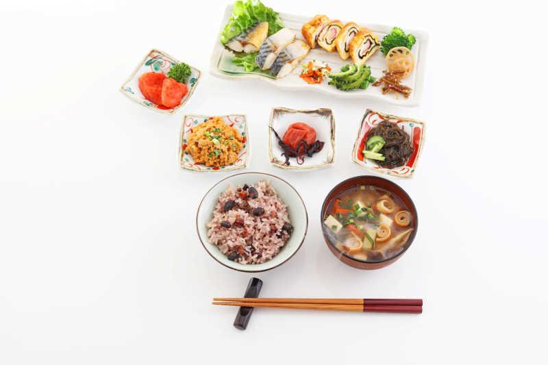 营养丰富的日式料理