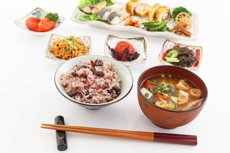 营养的日本早餐