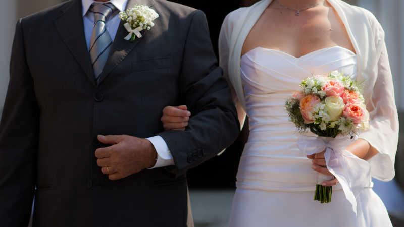 新娘手中具有象征意义的捧花