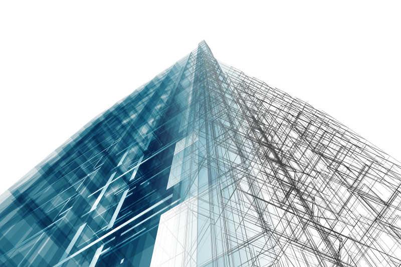 现代建筑框架