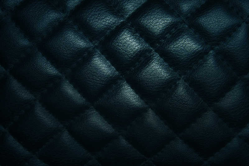 深蓝皮革纹理背景