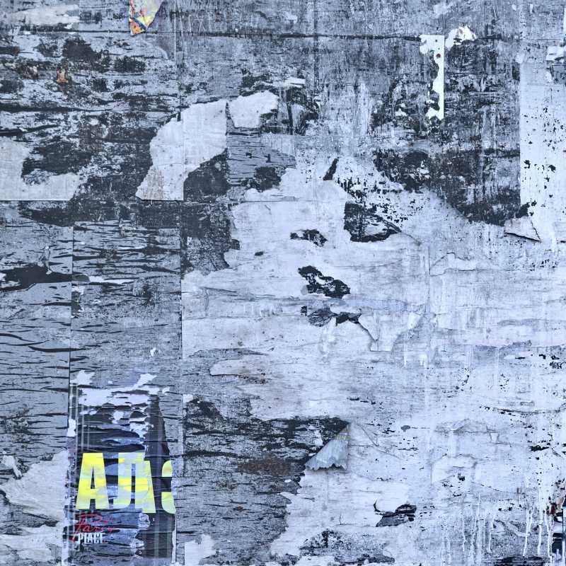 旧木板广告海报