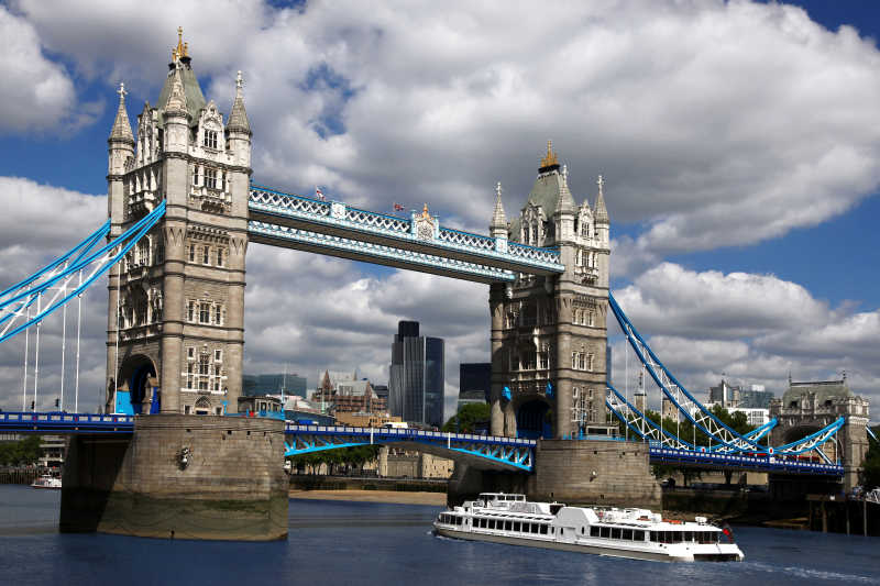 英国伦敦著名塔桥