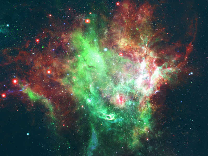 唯美的银河系