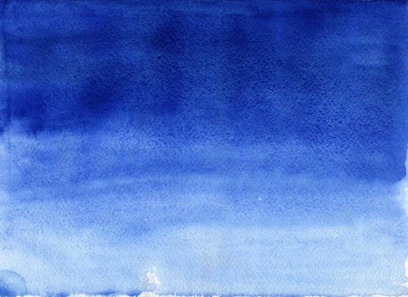 蓝色均匀晕染渐层背景
