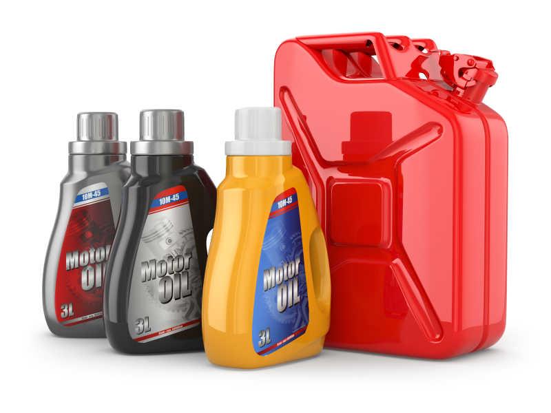 汽油油罐和机油