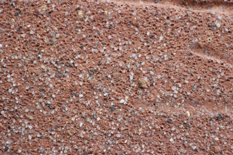 红色沙石背景