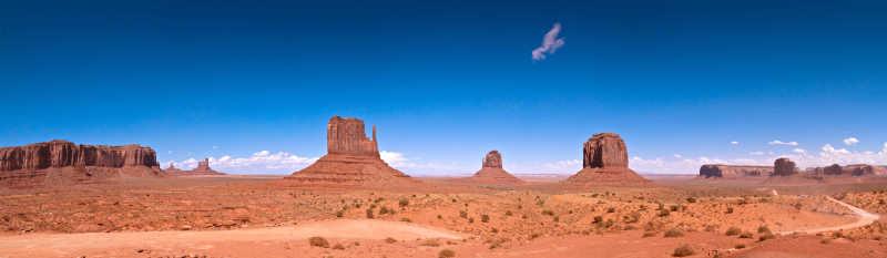 大峡谷中的沙漠