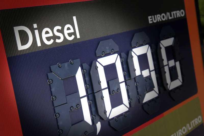 柴油价格表