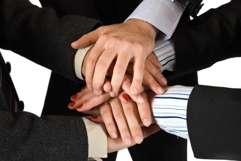 团结一致的商人之手