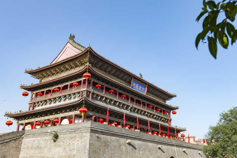 雄伟的西安城墙