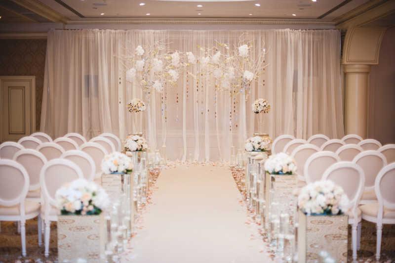 美丽浪漫婚礼设计装饰元素