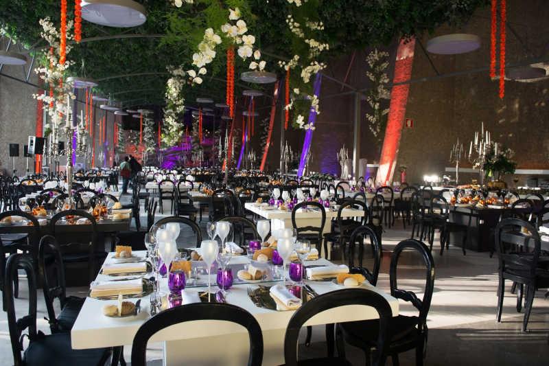 婚宴活动装饰现场
