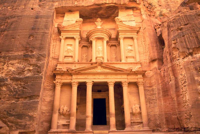 佩特拉的寺庙