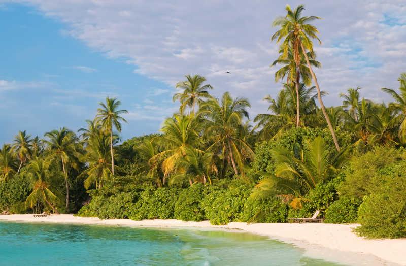 景色宜人的热带岛屿