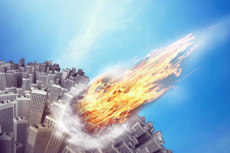 飞翔城市的陨石