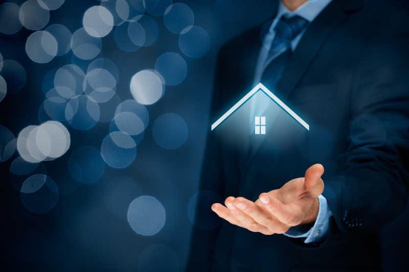 财产保险和安全概念