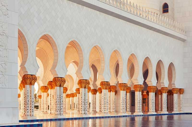 阿布扎比的清真寺