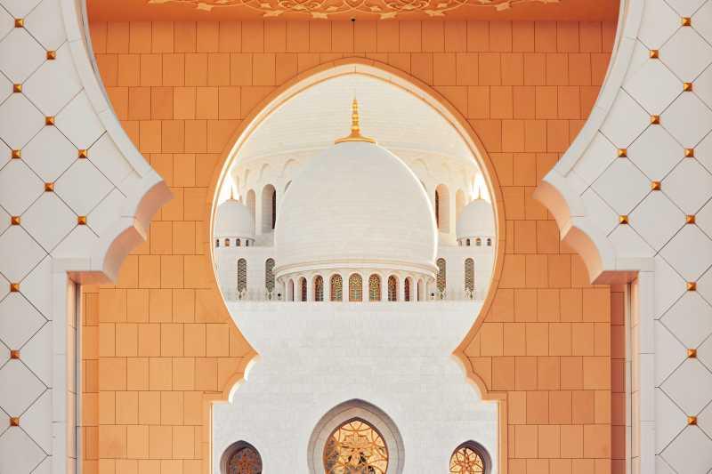 清真寺的豪华装饰