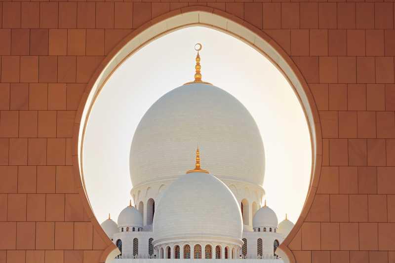 富丽堂皇的清真寺
