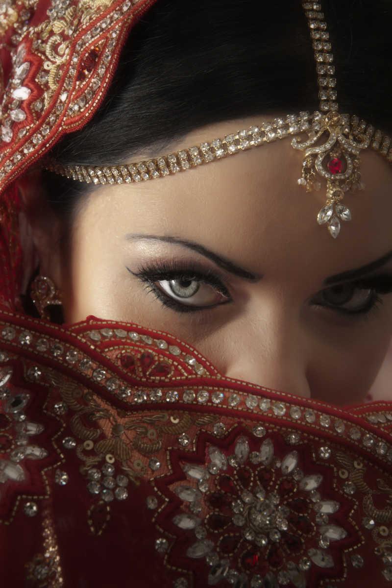 传统的印度美女